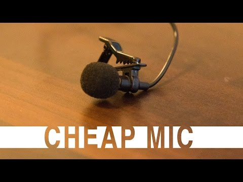 Best Budget LAPEL MIcrophone for mobile phone.-Unboxing hands on review