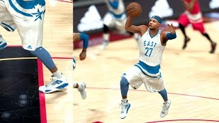 NBA 2K17 My Career - Free Throw Dunk All Star Game! PS4 Pro 4K