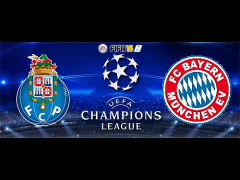 Fifa 15 Champions League 1/4 Quarter Final FC Porto vs. FC Bayern Munchen Knockout Stage (XBOX ONE)