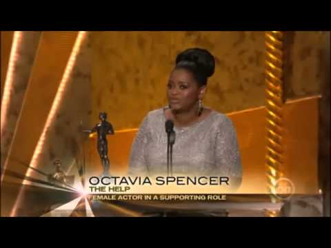 Octavia Spencer wins SAG Award for Best Supporting Actress