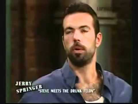 Steve Wilkos hosting The Jerry Springer Show - Steve Meets The Drunk