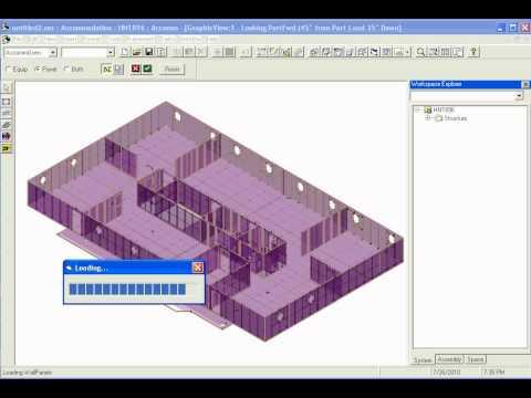 Intergraph 2010 Platinum Pipe - Place Accommodation Model