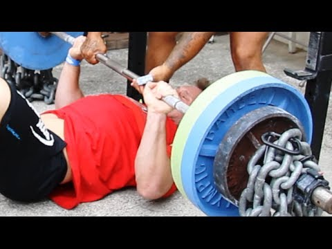 Unique Westwide Bench Press Techniques (Earthquake Bar / Sling Shot) | Furious Pete Image 1