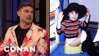 Flula Borg Is Always Ready For The Paparazzi - CONAN on TBS