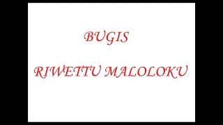 Bugis-riwettu Maloloku