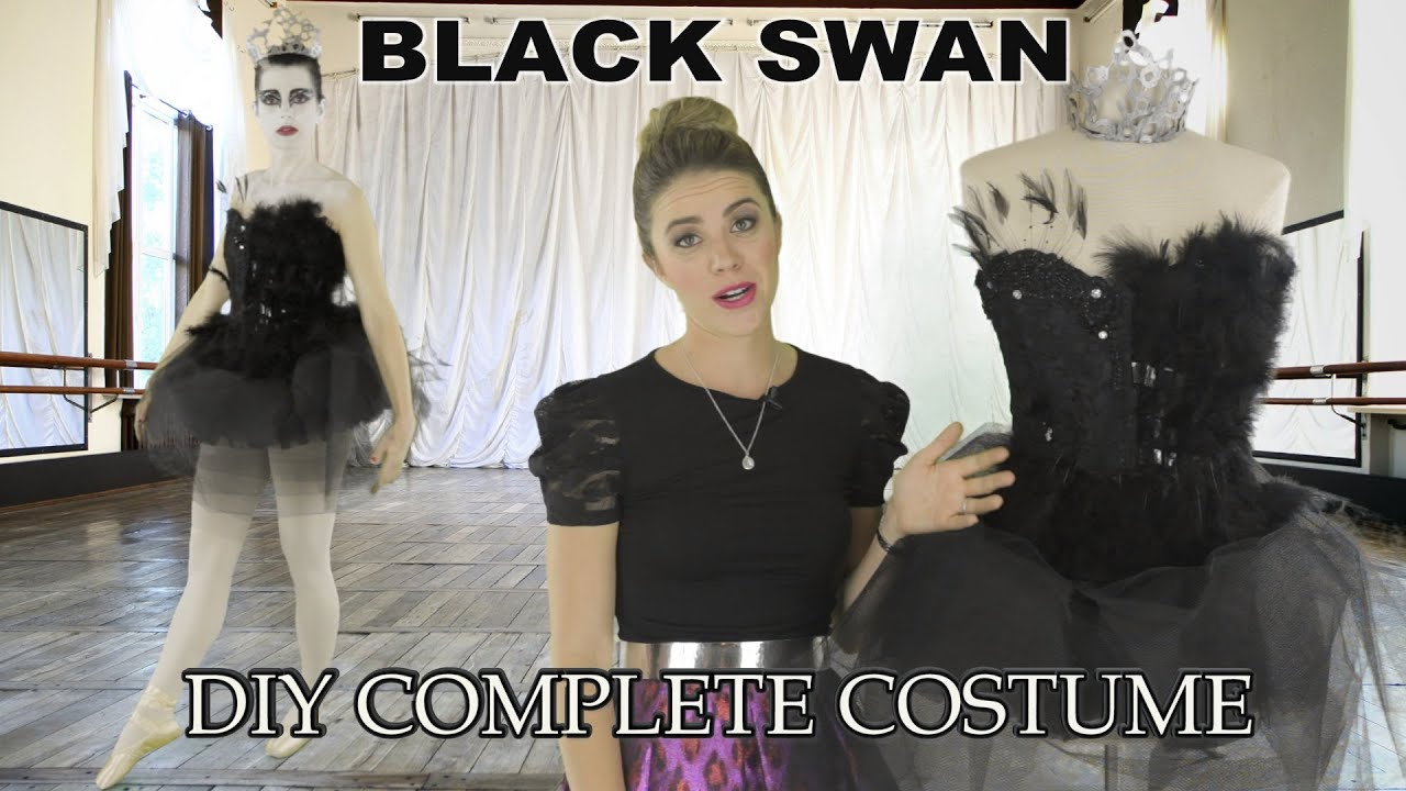 Diy Halloween Costumes Black Swan Black Swan Diy Costume