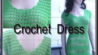 Crochet Summer Dress Tutorial Part 1 of 4 (How To Make The Foundation)
