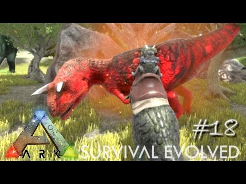 ARK: Survival Evolved - NEW ALPHA CARNO - PERFECT KIBBLE TAME !!! - [Ep 18] (Server Gameplay)