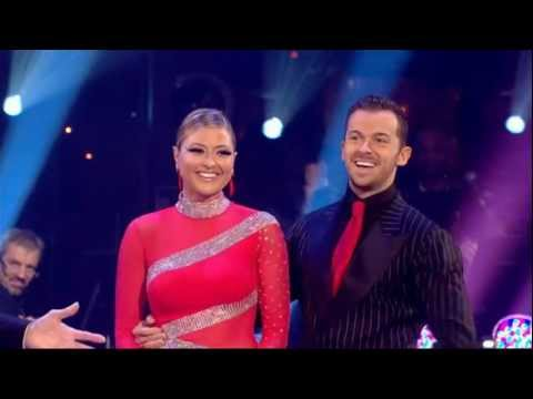 Holly Valance & Artem Chigvintsev - Strictly Come Dancing 2011 / Week 11 - 1st Performance & Votes