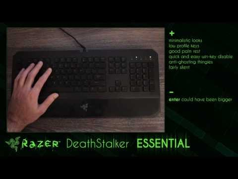 Razer DeathStalker ESSENTIAL keyboard - review