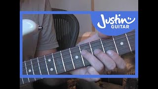 The Wind Cries Mary - Jimi Hendrix #2of2 (Songs Guitar Lesson ST-323) How to play