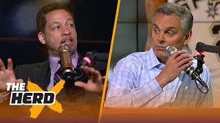 Chris Broussard on the chances Kawhi lands in LA, how the Lakers will handle Lonzo   NBA   THE HERD