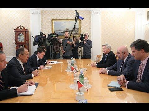 Встреча С.Лаврова с американскими экспертами