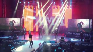 Deepcentral - Dragostea invinge, Sus pana la cer, Hey Girl - LIVE @ Media Music Awards 2014