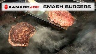 Kamado Joe Smash Burgers