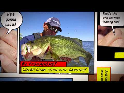 Largemouth Cover Craw Craziness, this week on Dave Mercer's Facts of Fishing THE SHOW
