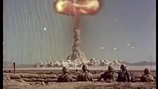 ABD, Kendi Askerlerinin önünde ATOM BOMBASI PATLATIYOR! (Gerçek Görüntü!)