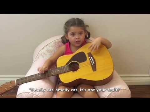 Adorable toddler performs Friends lines
