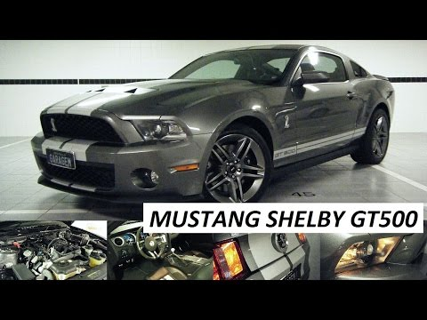 Garagem do Bellote TV (HD): Mustang Shelby GT 500