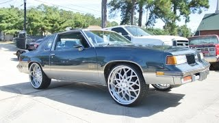 WhipAddict: 87' Oldsmobile Cutlass 442 on Amani Forged 24s from College Park Customs