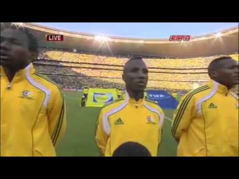 Fifa World Cup 2010: South Africa V Mexico National Anthems video