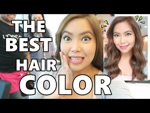 THE BEST HAIR COLOR! (July 28, 2016) - saytioco