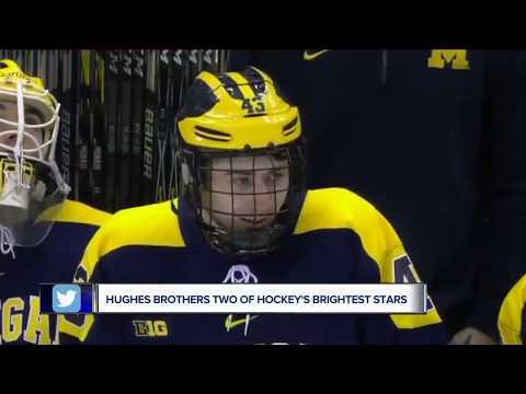 Jack & Quinn Hughes Future NHL Superstar Brothers