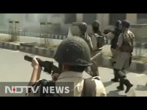 Protesters clash with police in Kashmir Valley after Eid prayers