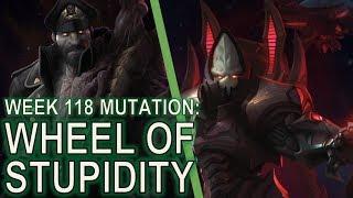 Starcraft II Co-Op Mutation #118: Wheel of Misfortune [Sigh...]
