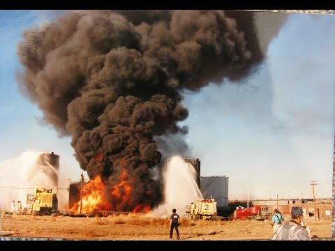 Denver CO Stapleton IAP tank farm fire 11-24-90.