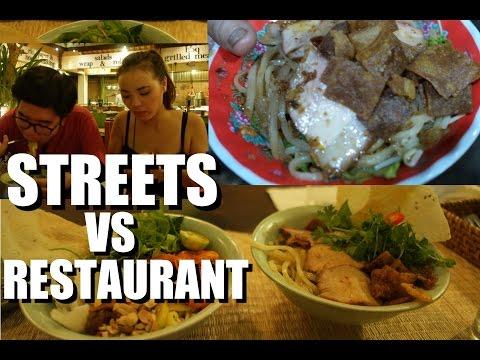 VIETNAM Street Food vs. Restaurant Food: MI QUANG NOODLES