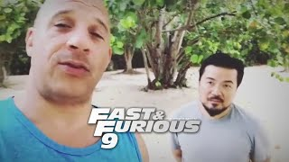 """Vin Diesel & Justin Lin Give An Update On """"Fast & Furious 9"""""""