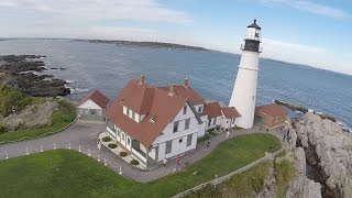 Portland Head Light Aerial