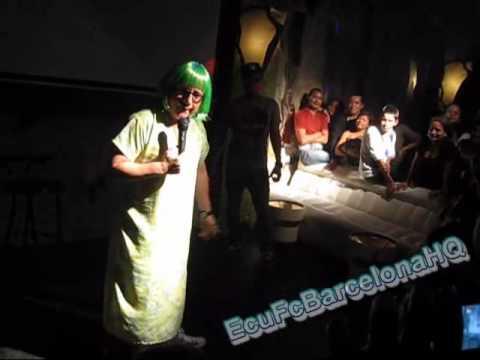 El Show de la vecina (Tomas Delgado) en Igualada , Barcelona , España 2010 PART 4/9