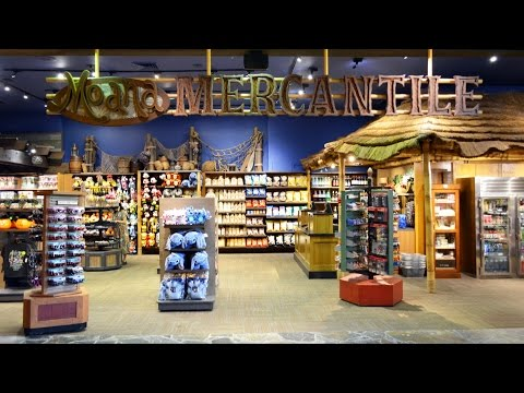 Moana Mercantile Shop Tour, Replaces Trader Jack's at Disney's Polynesian Resort, Disney World