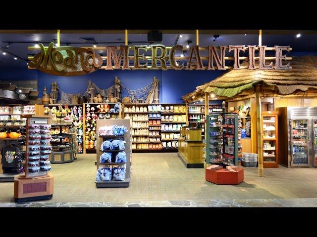 Moana Mercantile Shop Tour, Replaces Trader Jack's at Disney's Polynesian Resort, Disney World