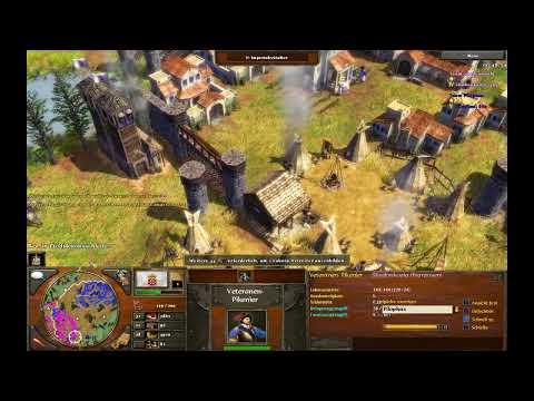 Age of Empires III Gameplay - Pilo vs Bunny [Deutsch/HD/Oldie]