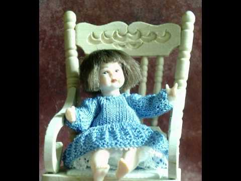 Knitting Patterns For Dollhouse Dolls : Miniature knitting patterns for miniature dolls - YouTube