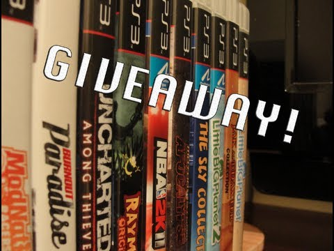 PS3/Xbox International Giveaway! Video Game Of Your Choice! -CLOSED-