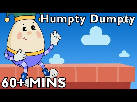 Humpty Dumpty And More | Nursery Rhymes From Mother Goose Club! video