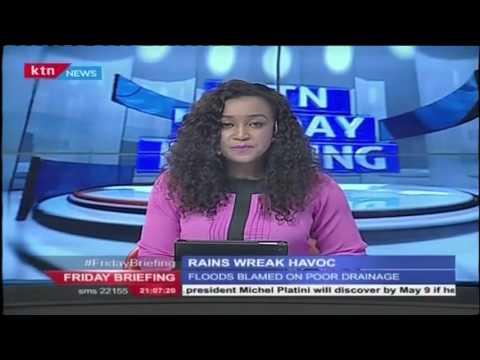 Heavy rains wreak havoc in Nairobi