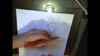 One Piece Manga Chapter 711-Speed Drawing- ワンピースマンガ章711