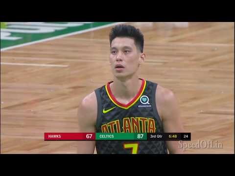 Jeremy Lin Returns from Injury - Hawks at Celtics 12/14/18