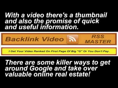 Backlink Video RSS Master