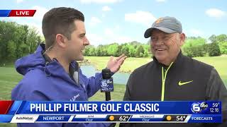 Live at the 20th annual Phillip Fulmer Golf Classic