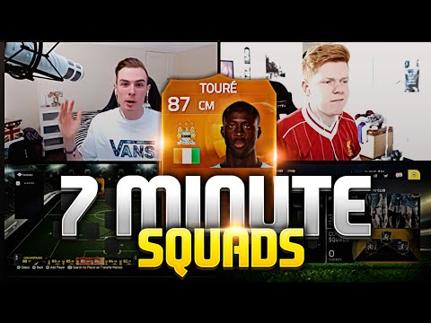 MOTM YAYA TOURÉ!!! 7 MINUTE SQUADS w/ JACK54HD!! FIFA 15 ULTIMATE TEAM