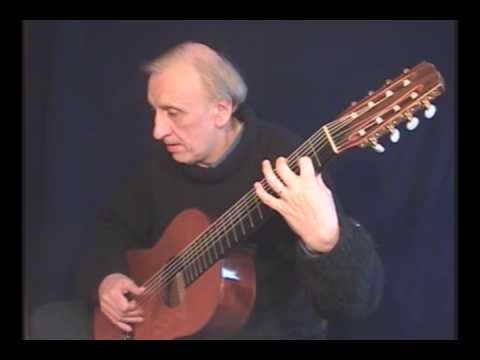 Johann Sebastian Bach - Double BWV 1002 (2º part) by Cesar Amaro
