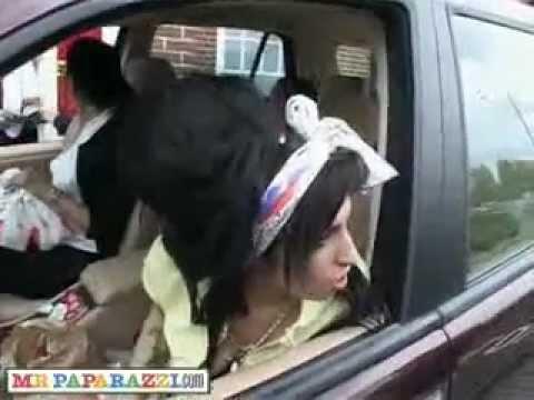 Amy Winehouse Extraño comportamiento