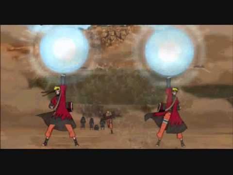 Naruto Vs Pain Part 1 - Blow Me Away video
