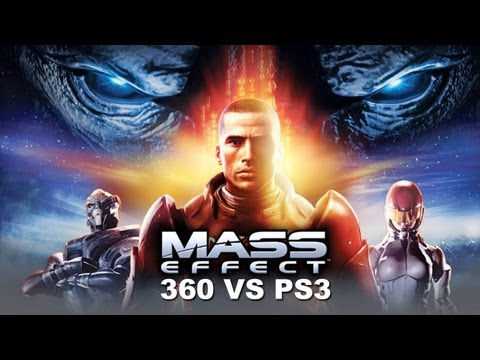 Mass Effect Xbox 360 Vs PS3 Comparison